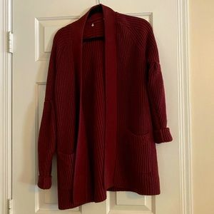 Open cardigan from Anthropologie